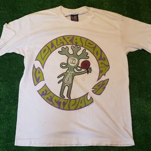 1992 Lollapalooza Giant Tag Shirt